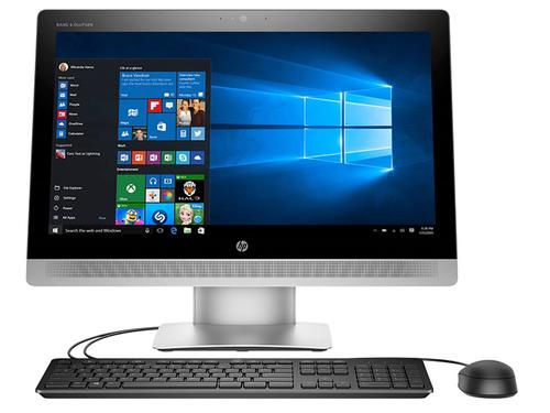 """מחשב HP AIO יוקרתי עם מסך  """"23 16GB/512GB SSD Win 10 - i7-6700U"""